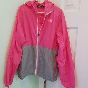 GIRLS size medium 10/12 The North Face jacket